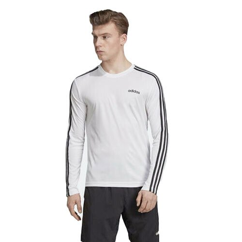 Men's Designed 2 Move Climalite Long Sleeve Tee, White, swatch