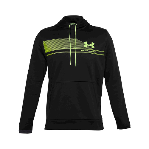 Men's Armour Fleece Plus SP Graphic Hoodie, Black, swatch