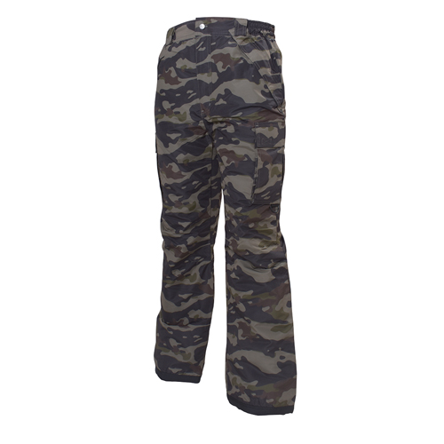 Men's Cargo Snowboard Pants, Camouflage, swatch