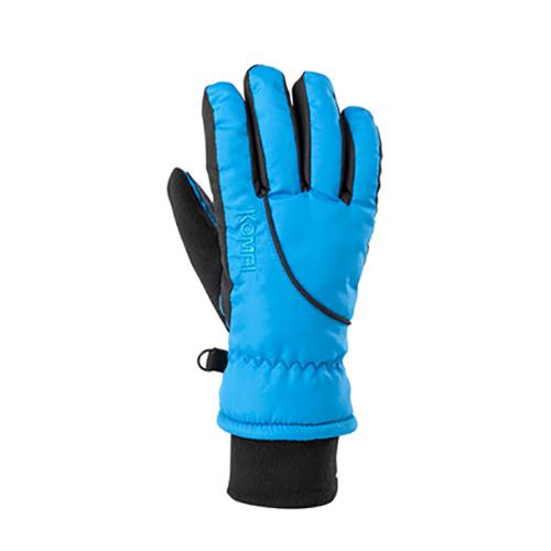 Boys' Snowball Gloves, Blue/Black, swatch