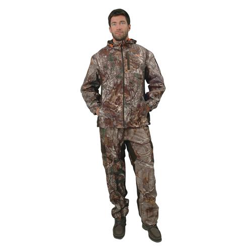 Men's Scent Factor Hooded Jacket, Mossy Oak, swatch