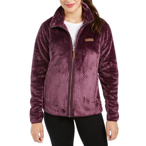 Women's Fireside II Sherpa Full-Zip Jacket, Black Cherry, swatch