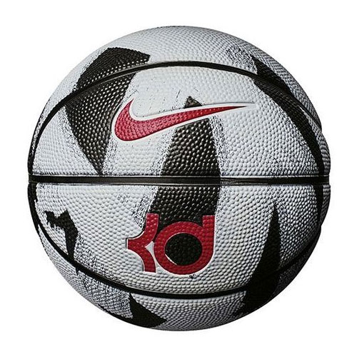 KD Official Basketball, Black/White, swatch