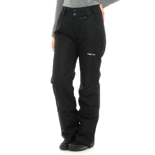 Women's Snow Ski Pants, Black, swatch