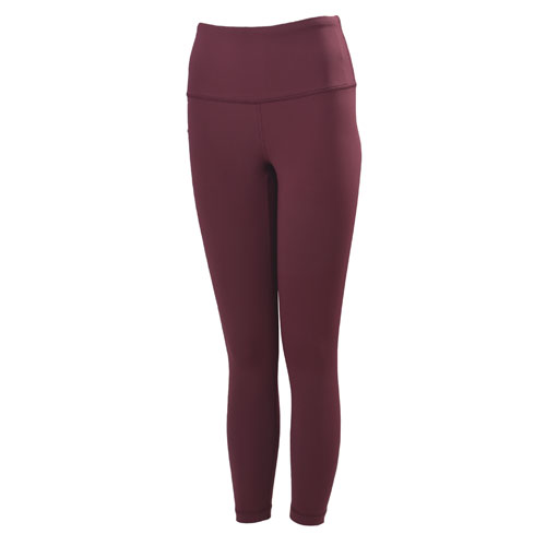 Women's Tech High Rise Ankle Length Leggings, Red, swatch