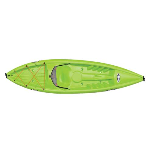 Rise 100X Sit-On-Top Kayak, Lime, swatch