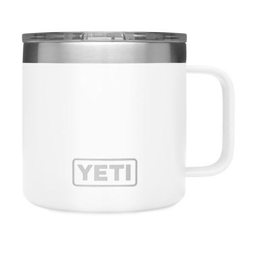 14 Oz. Color Mug, White, swatch