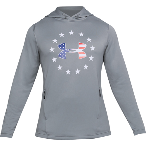 Men's Tech Terry Freedom Hoodie, Gray, swatch