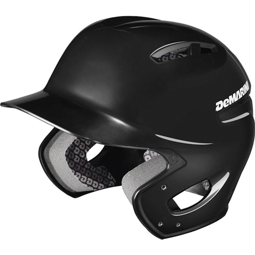 Paradox Protege Batting Helmet, Black, swatch