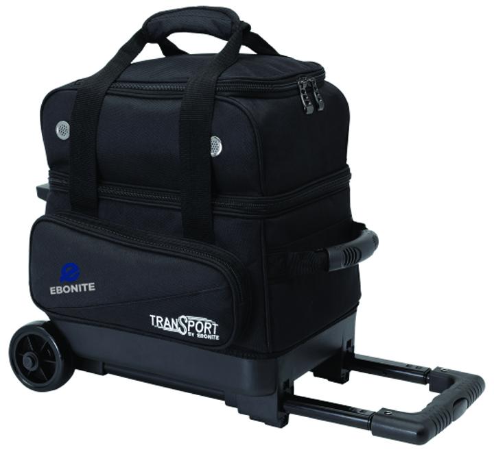 Transport Single Roller Bowling Bag, Black, swatch
