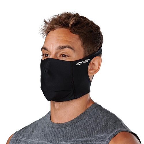 Play Safe Face Mask, Black, swatch