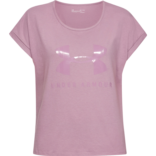 Women's Graphic Sportstyle T-Shirt, Purple, swatch