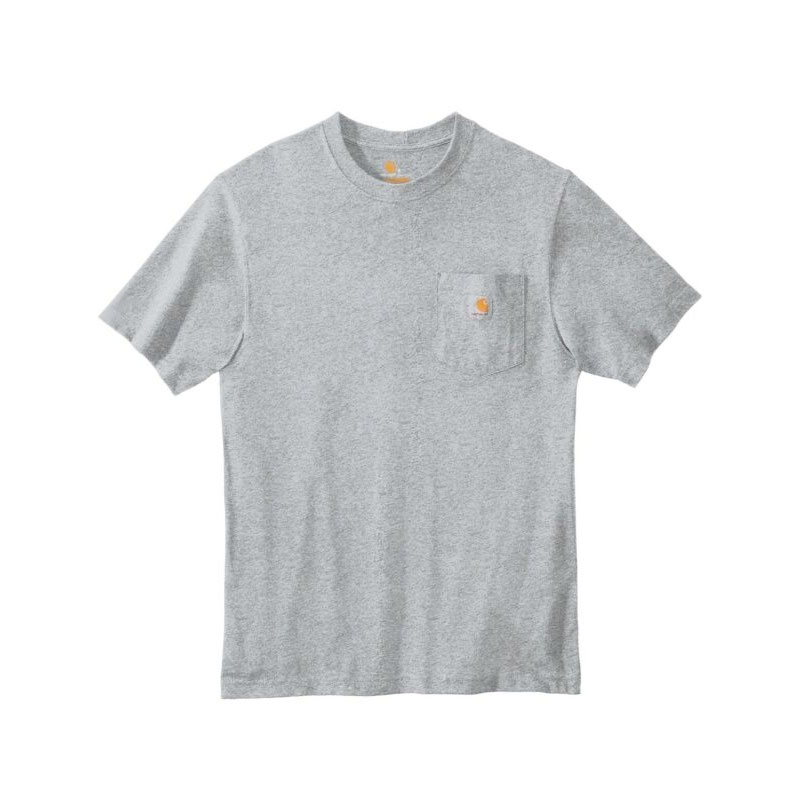 Men's Workwear Short Sleeve T Shirt, Gray, swatch