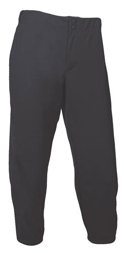 Women's Low Rise Athletic Cut Softball Pant, Black, swatch