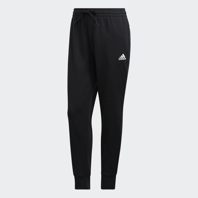 Women's Game and Go Tapered Joggers, Black/White, swatch