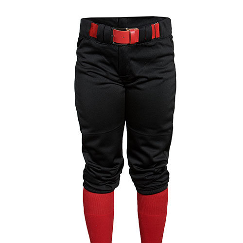 Youth Game Knicker Baseball Pant, Black, swatch