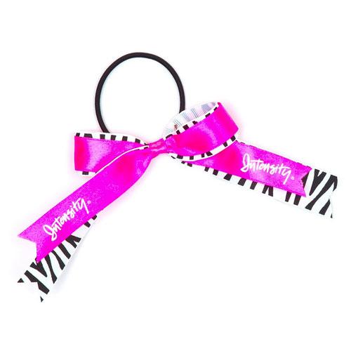 Setter Hair Ribbon, Pink/Black, swatch