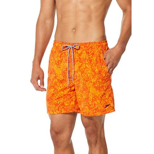 Men's Marina Volley Swimshort, Orange, swatch
