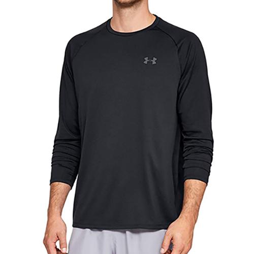 Men's Long Sleeve Tech 2.0 T-Shirt, Black, swatch