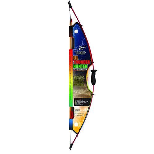 LiL Thunder Hunter Jr Recurve Bow Kit, , large