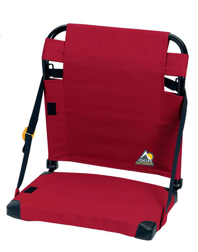 Bleacher Back Stadium Seat, Red, swatch