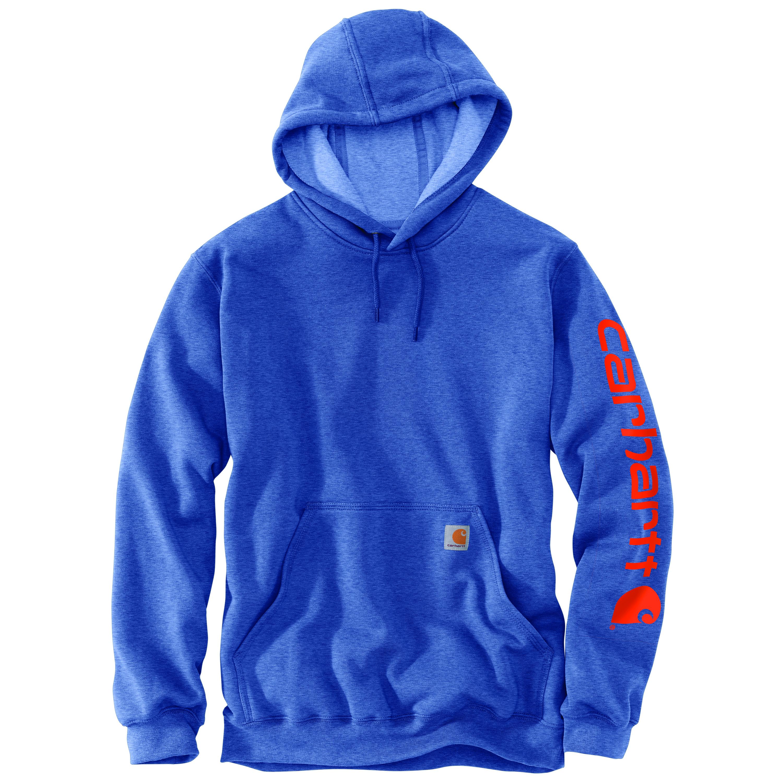 Men's Hooded Sweatshirt, Med Blue,Slate,Baby,Cadet, swatch
