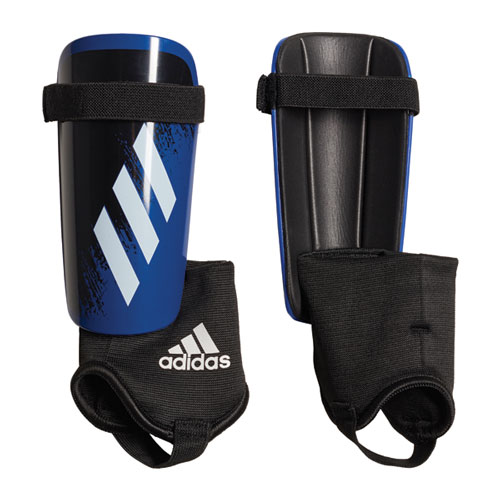 Youth X Match Shin Guards, Royal Blue/White, swatch