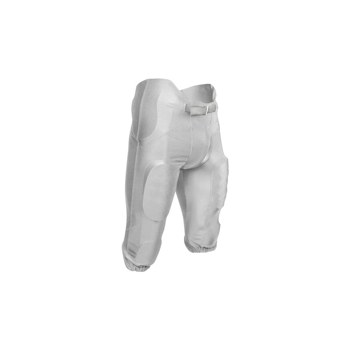 Youth Terminator 2 Integrated Polyester Football Pant, White, swatch