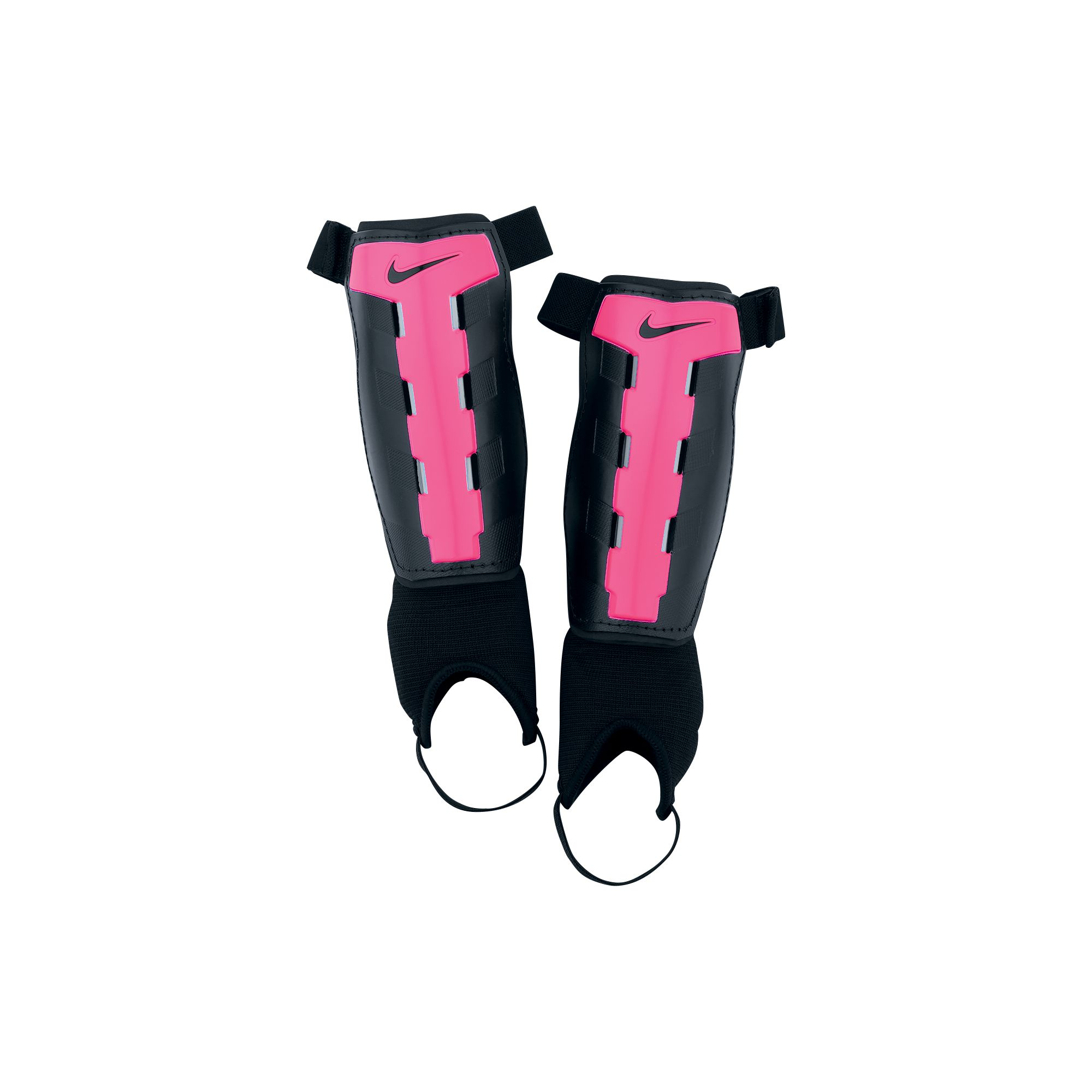 Youth Charge Shin Guards, Pink/Black, swatch