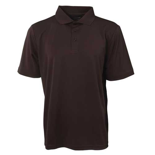 Men's Short Sleeve Golf Polo, Black, swatch