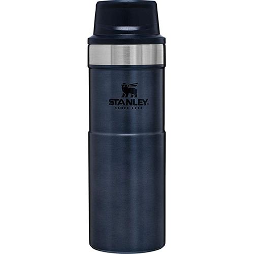 Trigger Action 16 Oz. Vacuum Mug, Navy, swatch