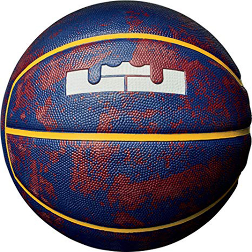 Lebron Official Basketball, Red/Blue, swatch