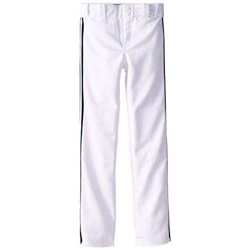 Adult Slug Trip Crown Open Hem Pant, White/Black, swatch