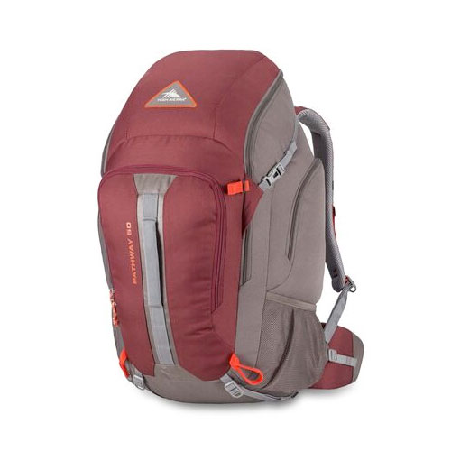 Pathway 50L Pack, Red/Gray, swatch