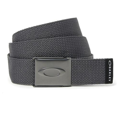 Men's Ellipse Web Golf Belt, Charcoal,Smoke,Steel, swatch