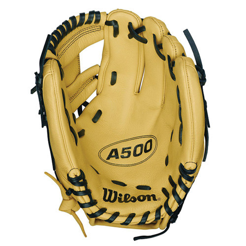 "Adult 11.5"" A500 Series Youth Glove, Black, swatch"