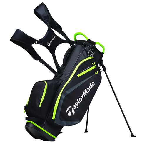 2019 Stand Bag, Black/Green, swatch