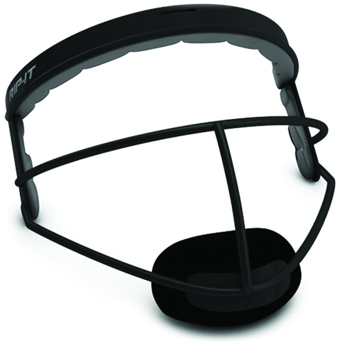 Youth Defense Face Guard, Black, swatch