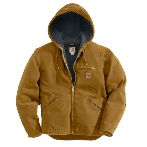 Men's Sandstone Sherpa-Lined Sierra Jacket, Lt Brown,Taupe, swatch
