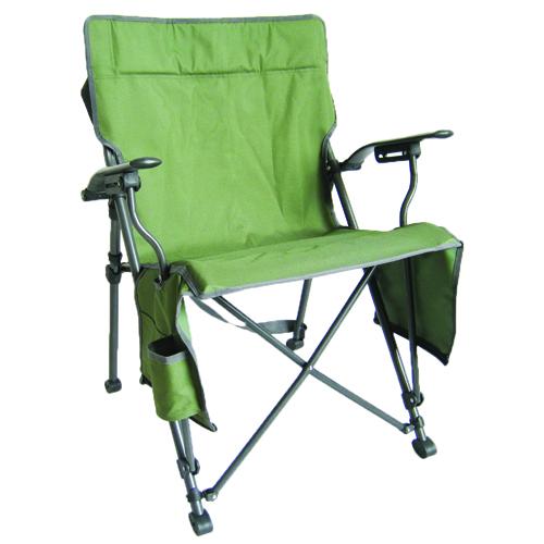 Zipper Close Hard Arm Chair, Hunter Green, swatch
