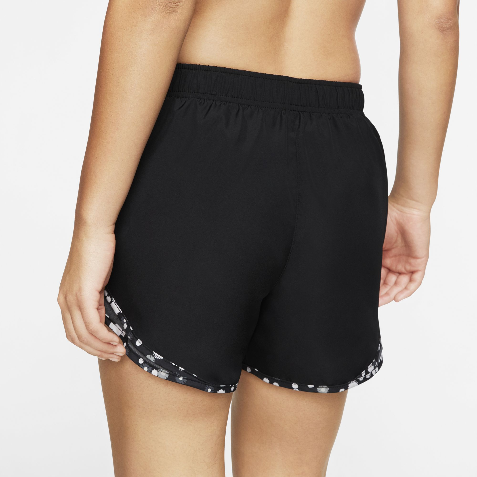 Women's Dry Tempo Running Shorts, Black, large