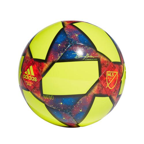 MLS Glider Soccer Ball, Br Yellow/Blue, swatch