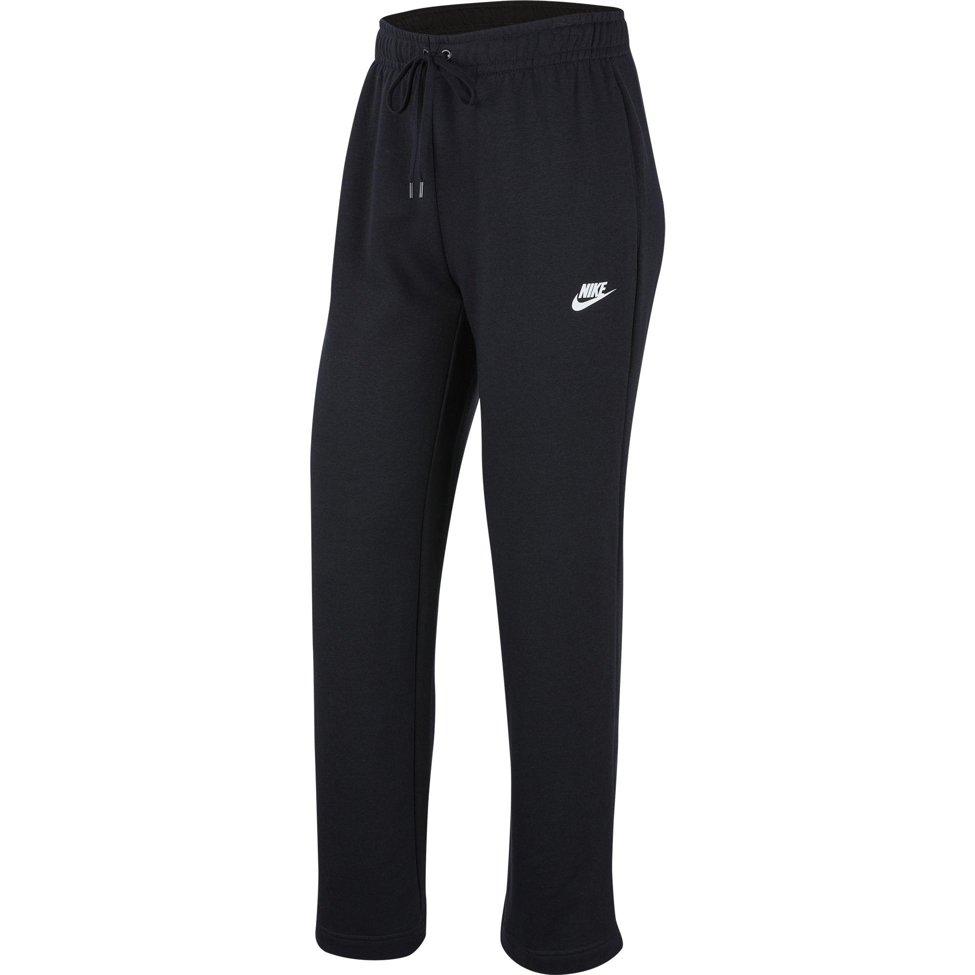 Women's Nike Sportswear Fleece Pants, Black, swatch