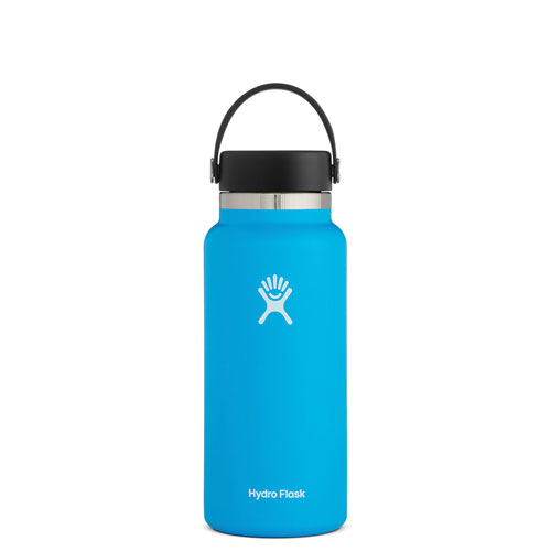 32 Oz Wide Mouth Water Bottle, Pacific, swatch