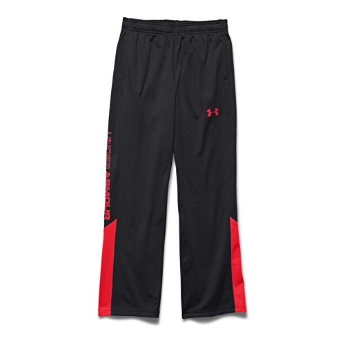 Boy's Brawler 2.0 Pant, Black/Red, swatch