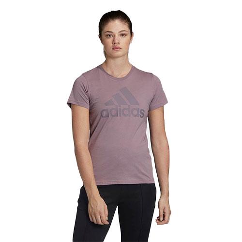 Women's Must Haves Badge of Sport Short Sleeve Tee, Purple, swatch