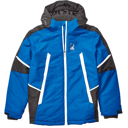 Boys Kyle City/Slope Ski Jacket, Blue, swatch