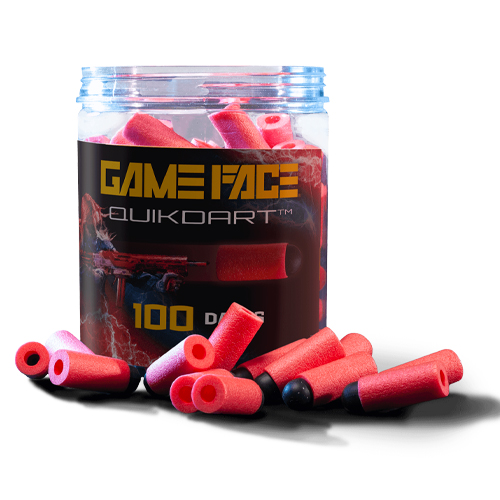 GAME FACE PRIME QUIK DARTS, Red, swatch