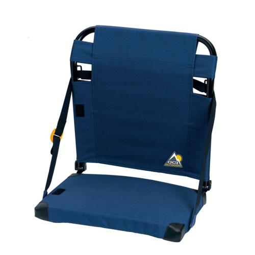 Bleacher Back Stadium Seat, Navy/Yellow, swatch