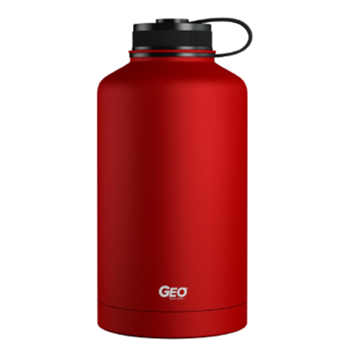 64oz Growler Bottle, Red, swatch